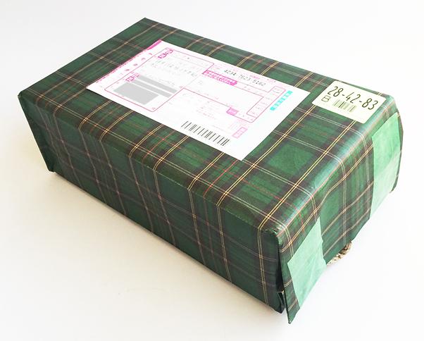 フィッティング小包み例
