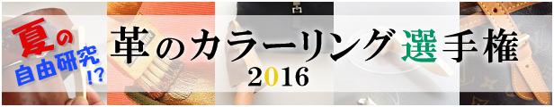 革のカラーリング選手権2016